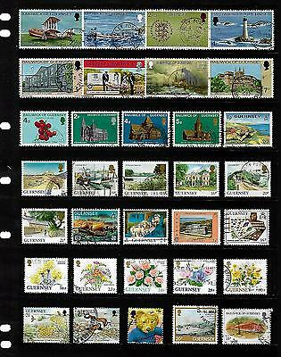 GUERNSEY stamp selection.(ref.761)