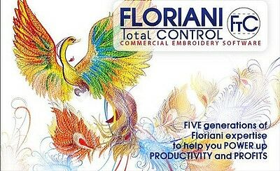 Embroidery Software Floriani Total Control 7 Full version