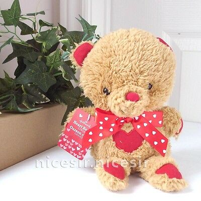 Hallmark Valentine Love Heart Teddy Bear Soft Plush Toy Gift