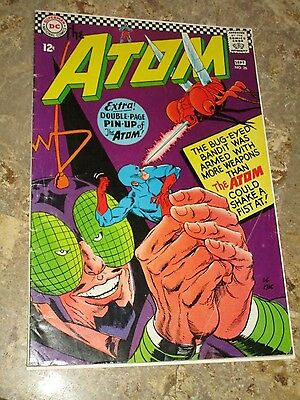 "The Atom #26 (DC 1966) Atom engaged; ""Eye-Popping Perils of the Insect Bandit"""