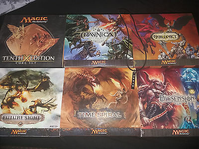 Magic the Gathering Fatpack (engl) Sammlung + viele Goodies