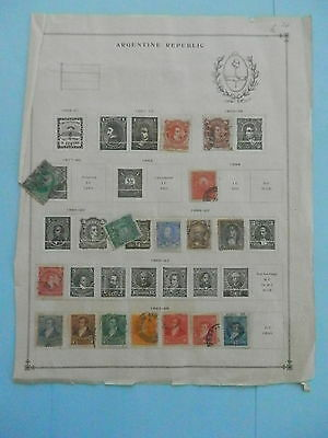 Argentina Small Old Collection 1867-1910 Extra Fine Dr Schultz Estate !!9079A