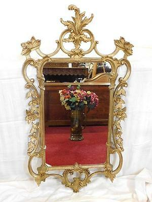 A Large Impressive Vintage French Antique Style Gilt Wall Mirror