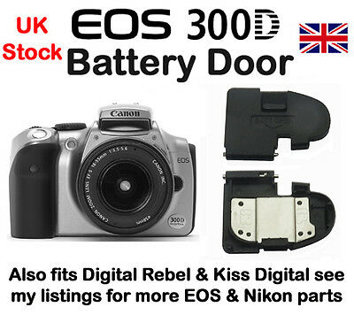 Battery Door for Canon EOS 300D, Digital Rebel &  Kiss Digital  NEW