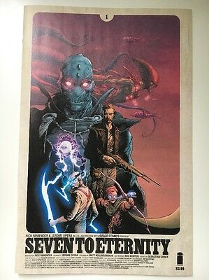 Seven To Eternity #1 Rare First Print