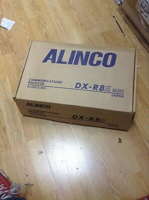 Alinco DX-R8E Communications Receiver Boxed Free Shipping