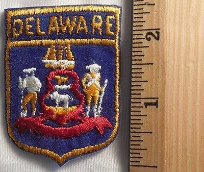 Delaware State Patch (State, Souvenir)