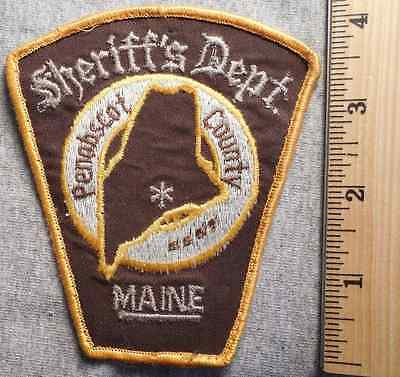 Penobscot County Maine Sheriff Patch (Highway Patrol, Sheriff, State)