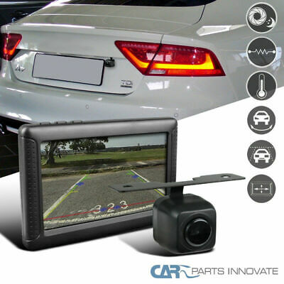 Wireless Car 136° Angle Night Digital Reverse Parking Backup Camera+LCD Monitor