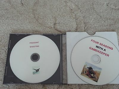 Pheasant Shooting DVDs x 2