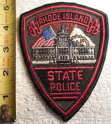 Rhode Island State Police Patch (Highway Patrol, Sheriff, Ems, State)