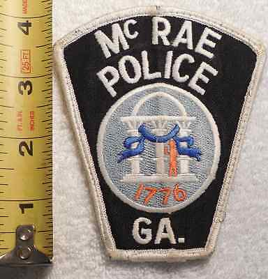 Mcrae Georgia Police Patch (Highway Patrol, State Police, Sheriff)