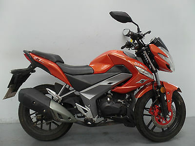 2015 Kymco Ck1 125 Damaged Spares Or Repair ***no Reserve*** (11811)
