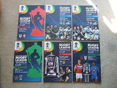 programme world cup finals final new zealand v australia 30/11/13 at manchester