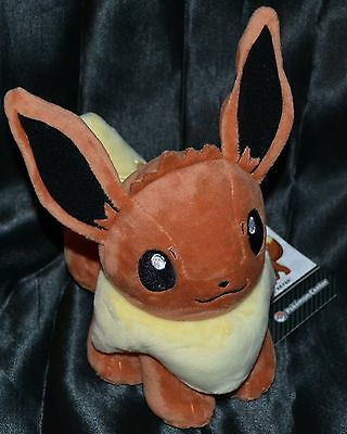 "6"" Eevee Official Pokemon Center Poke Plush Dolls Toys Stuffed Animals Standard"