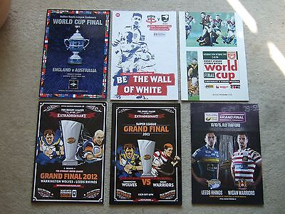 programme grand final leeds v wigan 10/10/15 at manchester united fc