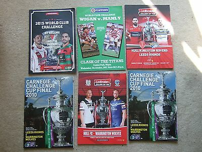 programme world club challenge st helens v south sydney 22/2/15