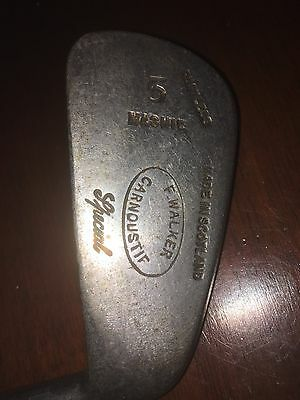 Vintage 5 Mashie F.Walker Carnoustie Golf Club
