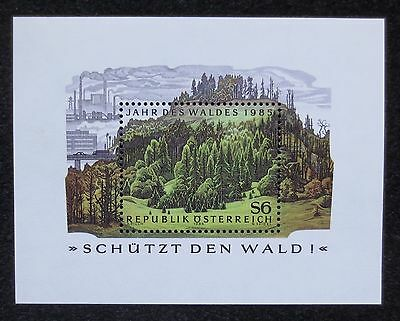 Austria - 1985 - Forestry - SG MS 2059 - MNH