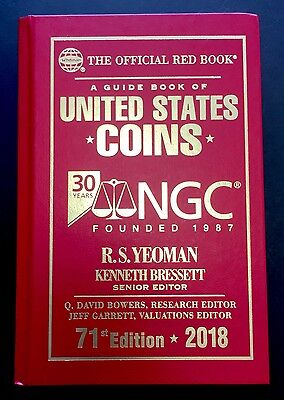 2018 Special Edition NGC 30th Anniversary Whitman Official US Coins Red Book