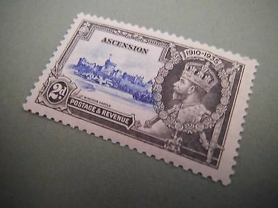 1935 KGV Silver Jubilee stamps ASCENSION Mounted MINT stamp CV £11.00 Lot 2