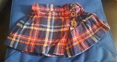 Next Baby Girl Tartan Skirt 3-6 months