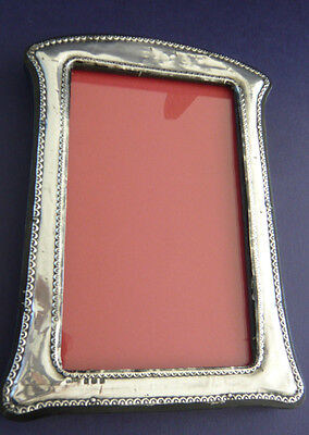Distressed Antique Solid Silver Photograph Frame 1913 Green & Cadbury Ltd