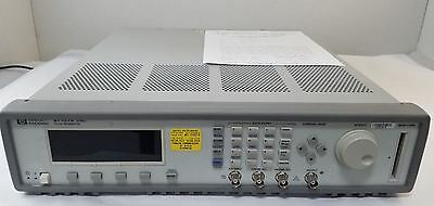 Agilent 81101A High Speed Pulse Generator, 50MHz - 90 Day Warranty