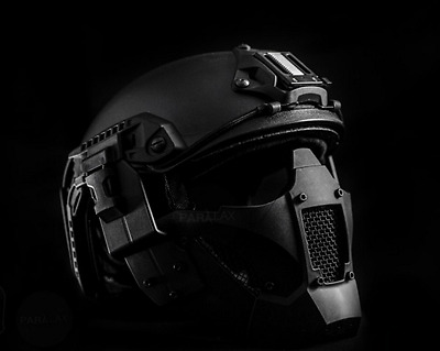 Maske Rogue One Star Wars Hard Shell Half Face Mask FAST Helmet Airsoft Black