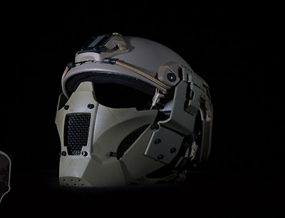 Rogue One Star Wars Maske Cosplay Airsoft Mask Helm Full Face Schutz TAN