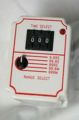 DAYTON TIME DELAY on RELAY MULTIPLE RANGE .05 SECOND to 999 MINUTE , 6A854