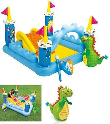 Inflatable Pool With Slide Toys Kid Baby Intex Swim Water Floats Play Center