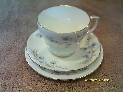 Duchess Tranquillity Bone China Cup Saucer And Tea Plate Trio