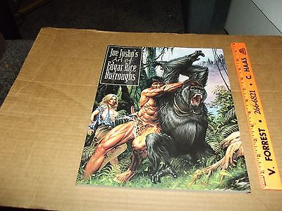 Joe Jusko Art Book Of Edgar Rice Burroughs Tarzan Soft Cover