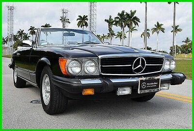 1984 Mercedes-Benz 300-Series 2 Dr Convertible 1984 2 Dr Convertible Used 3.8L V8 16V Automatic RWD