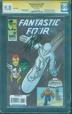 Fantastic Four 571 CGC SS 9.8 Stan Lee 50 Cover swipe Super Hero Squad Variant