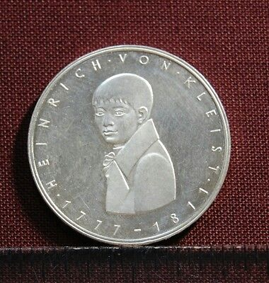 5 Marcos De Plata. Alemania. 1977 G. Proof