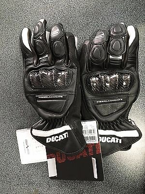 Guanti in pelle DUCATI sport C2 neri - Leather gloves Ducati sport C2