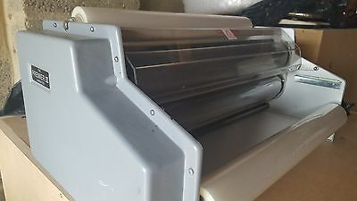 Used  Premier III A 3 Roll Laminating Machine