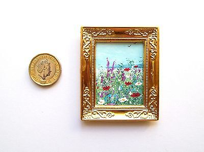 Doll House Miniature Original Handmade 1/12Th Scale Landscape Painting