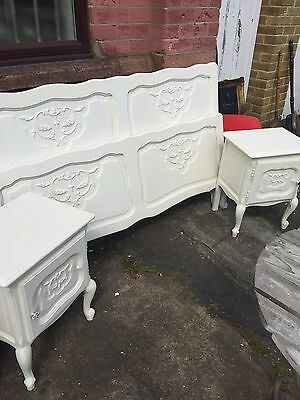 Double French Bed Frame Painted In F&b