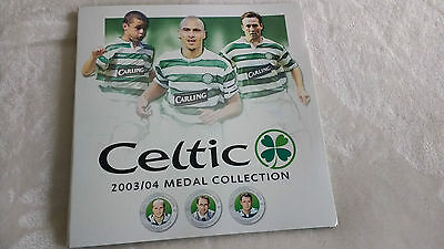 Celtic FC 2003/2004 Coin Collect Card only