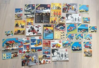 Lego Instruction Manuals 34x Including Vintage Space