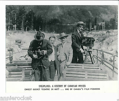 """Ernest Ouimet-Dreamland:A History of Canadian Movies 7 1/4"""" X  9 1/4""""-#651-1974"""