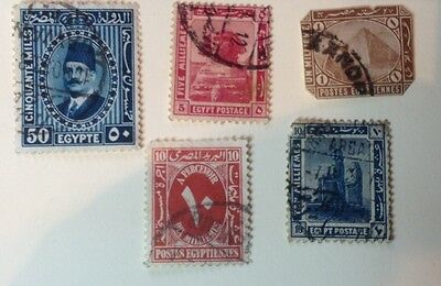 EGYPT Random Selection. Various Dates. Used.