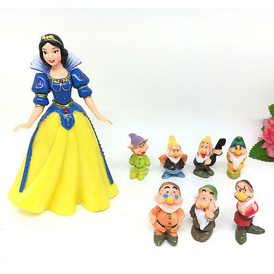 Snow White and the Seven Dwarfs Classic Figure Collection Set Garage Kit Toy
