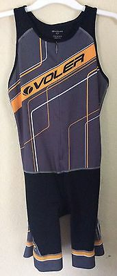 Large & Xl VOLER Mens NEW Cycling Padded Skinsuit Jersey Shorts Singlet Bicycle