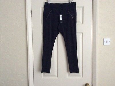 Lovely Autograph M & S Leggings Size 16 Small Fitting Suit 12/14 Bnwt Cost £45