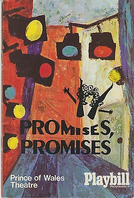 the prince of  wales theatre  programme promises promises