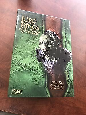 Sideshow Weta Lord Of The Ring Fellowship of the Ring Moria Orc Swordsman Bust